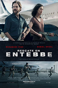 Poster de: Rescate en Entebbe