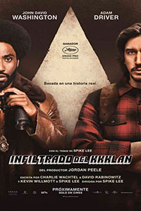 Poster de:1 El infiltrado del KKKlan