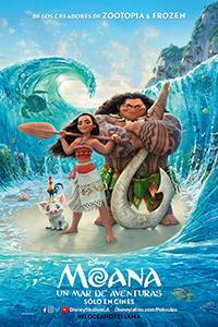 Poster de: Moana; un mar de aventuras