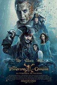 Poster de: Piratas del caribe: la venganza de Salazar